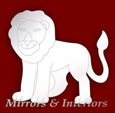 Personalised LION Acrylic Mirror CHRISTMAS * Present * Gift * Stocking filler