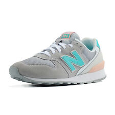 New Balance Womens WR996JH D Grey Green Pink Suede Running Shoes WR996 996 DS