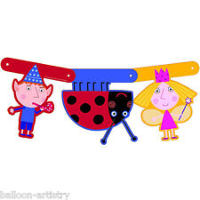 Ben & Holly's Little Kingdom Children's Party Cutout Banner Decoration