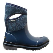 Bogs Bogs Women's Plimsoll Quilted Floral Mid Boots