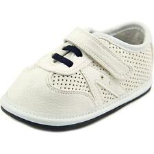 Jack and Lily My Shoes Infant  Round Toe Leather White Flats
