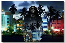 Poster Silk Lil Wayne Rapper Pop Singer Star Room Club Art Wall Cloth Print 507
