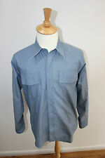 Maison Martin Margiela paris Reversible Chambray Shirt made in italy £430