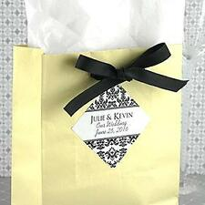 """40 Personalized Wedding Bridal Shower Party Favor Labels Stickers 1.9""""x1.9"""""""