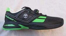 BABOLAT WIMBLEDON Junior 4.5 5 Propulse black green tennis shoes NEW
