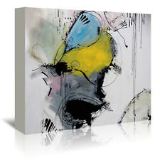 Americanflat Motus 7.2 by Annie Rodrigue Painting Print on Wrapped Canvas