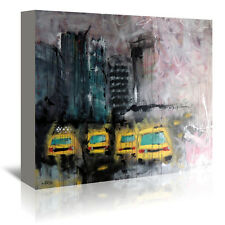 'Urbanit De Marie' by Annie Rodrigue Painting Print on Wrapped Canvas
