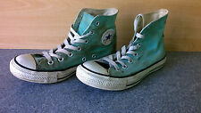 Converse All Star Hi-Tops Aqua Size 4 UK