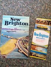 New Brighton Wallasey 1966 Guide Book Plus Repro 60's Leaflet Wirral Cheshire