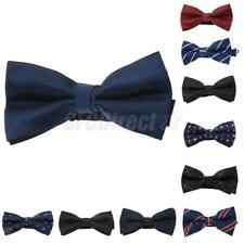 New Stylish Bow Tie Necktie Bow PreTied Hook for Wedding Party Formal Prom Decor