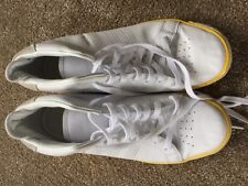 ADIDAS FOREST HILLS MID WHITE LEATHER MENS HI TOP TRAINERS SIZE 10 UK 44.5 EU