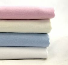 Baby Bedding - 100% Brushed Cotton Flannelette Cot, Cot Bed And Pram Sheets