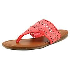 Unisa Lyley Women  Open Toe Synthetic Pink Thong Sandal