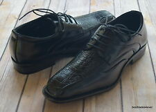 NICE ITALIAN STYLE MENS DRESS/CASUAL SHOES COLOR BLACK FINISH EXCELLENT QUALITY
