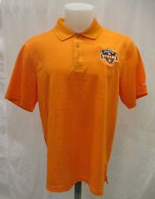 Houston Dynamo Men M L 2XL Adidas Climalite Polo Shirt Orange MLS A9M