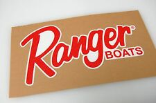 Ranger Boats - Bass Boat Carpet Graphic - Multiple Sizes/Colors - Decal Logo