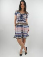 Yumi Dress Summer Dress YN-132 Alyona blau striped