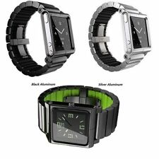 Aluminum Multi-Touch Wrist Watch Band kit Strap Bracelet for iPod Nano 6 6th