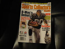 "DARIN MCFADDEN ""RAIDERS"" ON COVER OF SEPT.2008 TUFF STUFFS SPORTS COLL. MONTHLY"