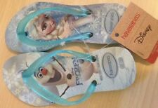 Frozen Elsa Flip Flop Havaianas Thong Sandals Girl Toddler Shoe 9 23/24 10 25/26