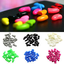 20Pcs/Lot Colorful Soft Pet Dog Cats Kitten Paw Claws Control Nail Caps Cover