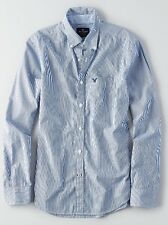 NWT AMERICAN EAGLE Long sleeve Striped button down shirt Small, Medium, or Large