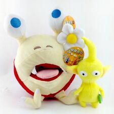 """PIKMIN Plush Toy 11"""" Bulborb Chappy and 9.5"""" Yellow Pikmin Children  Xmas Gift"""