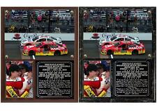 Tony Stewart - Jeff Gordon Brickyard 400 Ceremonial Final Lap Photo Plaque
