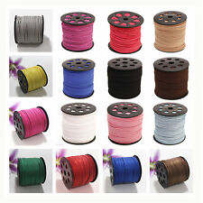 3mm Width Sequins Faux Suede Leather Thong Jewelry Necklace  DIY Making Cord