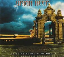 Official Bootleg Vol. 2-live in Budapest Hungary 2 - Uriah Heep CD-JEWEL CASE