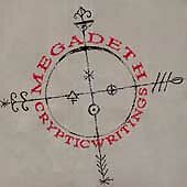 Cryptic Writings by Megadeth (CD, Jun-1997, Capitol) CD & PAPER SLEEVE ONLY