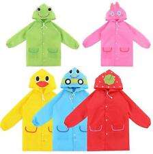 Kids New Baby Cartoon Raincoat Cute Children Rainwear Waterproof Funny