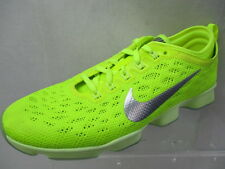 NIKE ZOOM FIT AGILITY LADIES TRAINERS VOLT/SILVER BRAND NEW SIZE UK 6 (CN20)