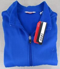 IZOD Men's Performx Cool-FX Performance Full Zipper Jacket Blue XL NEW NWT