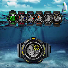 SKMEI S-SHOCK Waterproof Men LED Digital Date Sports Multifunction Army Watch