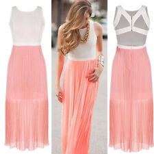Dress Boho Cocktail Women Long Sundress Evening Party Summer Sexy Maxi Beach