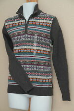 Tommy Hilfiger Cable Knit Half-Zip Holiday Sweater Tapestry New NWT