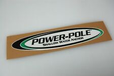 Power-Pole - Bass Boat Carpet Graphic - Multiple Sizes - Decal Logo