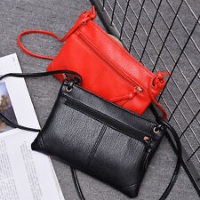 1XHandbag Shoulder Bag PU Leather Messenger Hobo Zipper Bag Satchel Tote Purse J