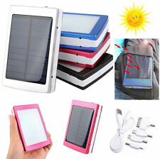8000mAh Portable Super Solar Charger Dual USB External Battery Power Bank PY