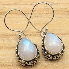 925 Sterling Silver Plated Handcrafted Earrings ! Affordable Wedding Jewelry