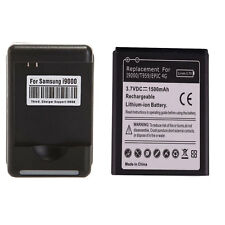 New 1500mAh Replacement Li-ion Battery for Samsung Galaxy S i9000 + Charger