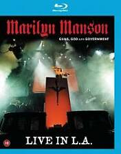Marilyn Manson: Guns, God and Government - Live in L.A. Blu-ray Disc BRAND NEW