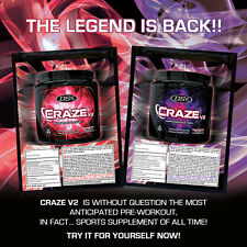 NEW Driven Sports CrazeV2 Pre Workout SAMPLE - TRY IT NOW!!