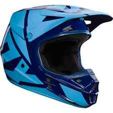 NEW 2017 FOX RACING V1 RACE MX DIRT BIKE MOTOCROSS HELMET NAVY ALL SIZES