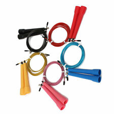 1Pcs Speed Wire Skipping Adjustable Jump Rope Fitness Exercise Cardio Slim Sport