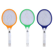Rechargeable LED Electric Bug Pest Fly Mosquito Killer Swatter Zapper Racket PY