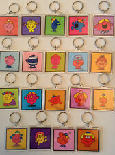 MR MEN LITTLE MISS KEYRING Princess Shy Lucky Naughty Giggles ++++TAKE YOUR PICK