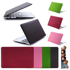 "Case Cover For Apple MacBook Air Pro Retina 11"" 12"" 13"" 15"" Rubberized Shell"