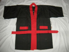 Karate Kung Fu Ninja Outfit Halloween Costume in Black Only Size: Large (L) NWT